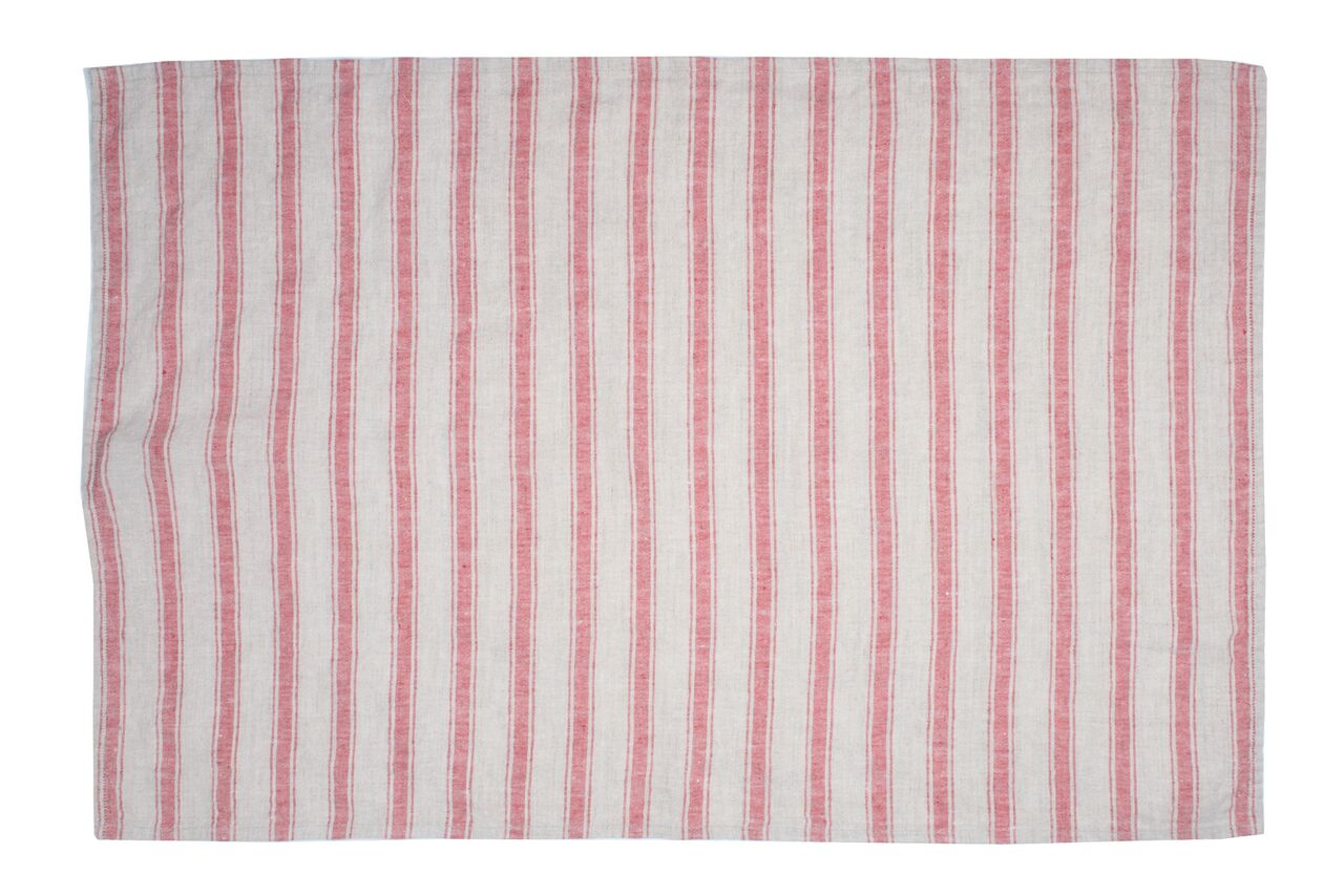 Kartena Tea Towel in Red (Set of 2)