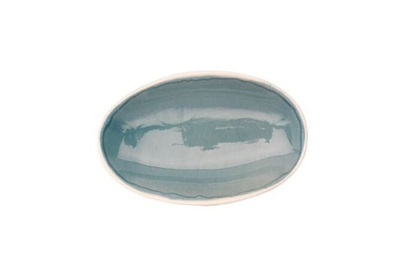 Gerona Tapas Dish in Blue (Set of 2)