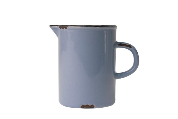 Tinware Creamer in Cashmere Blue