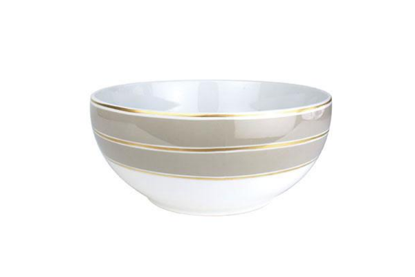 La Vienne Serving Bowl in Grey