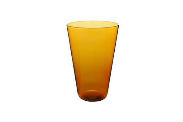 Eau Minerale Glass in Amber (Set of 4)