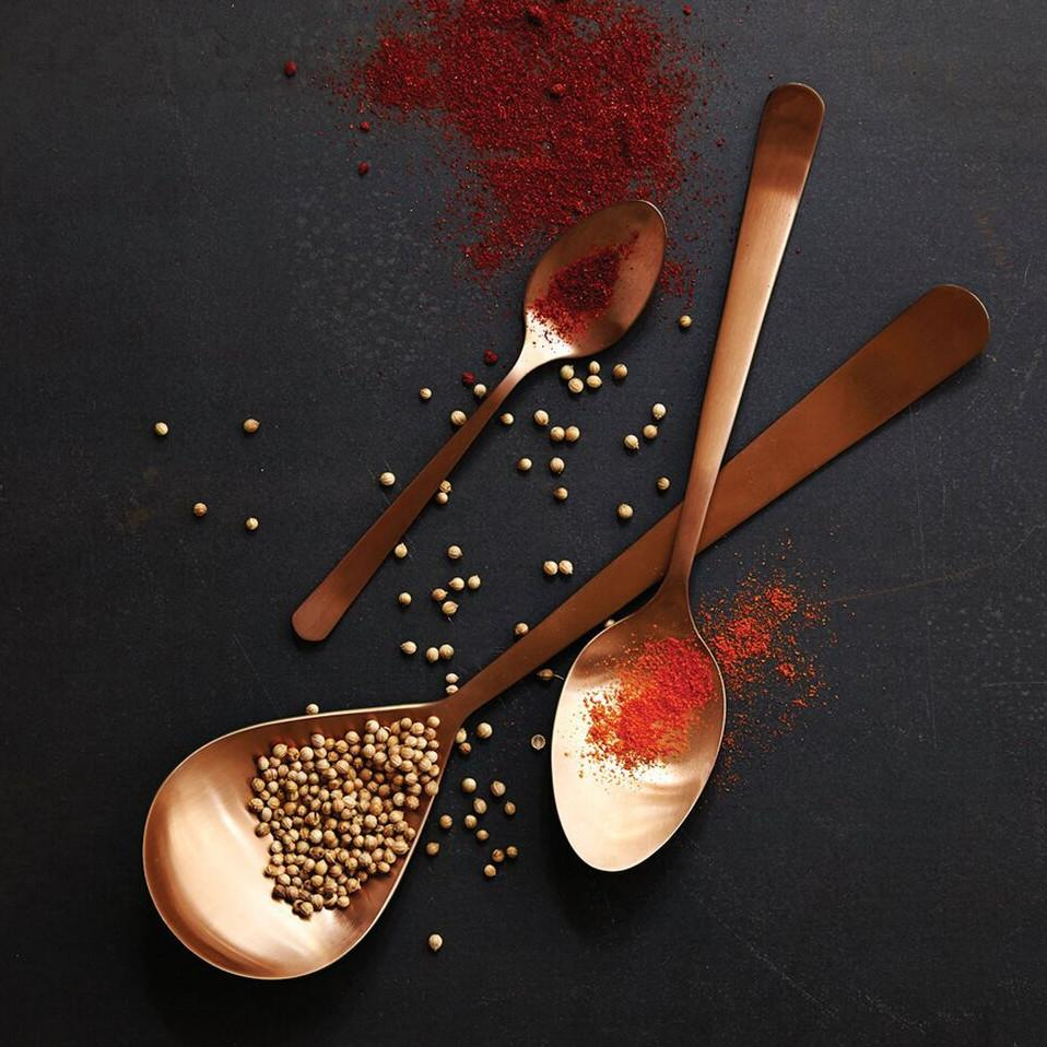 Oslo Serving Spoon in Copper