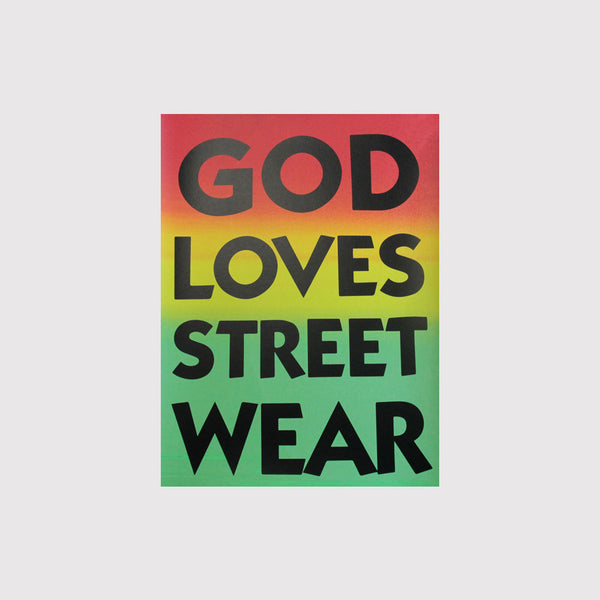 God Loves Streetwear - Weird Beard