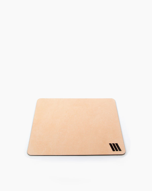 Raw Leather Mousepad