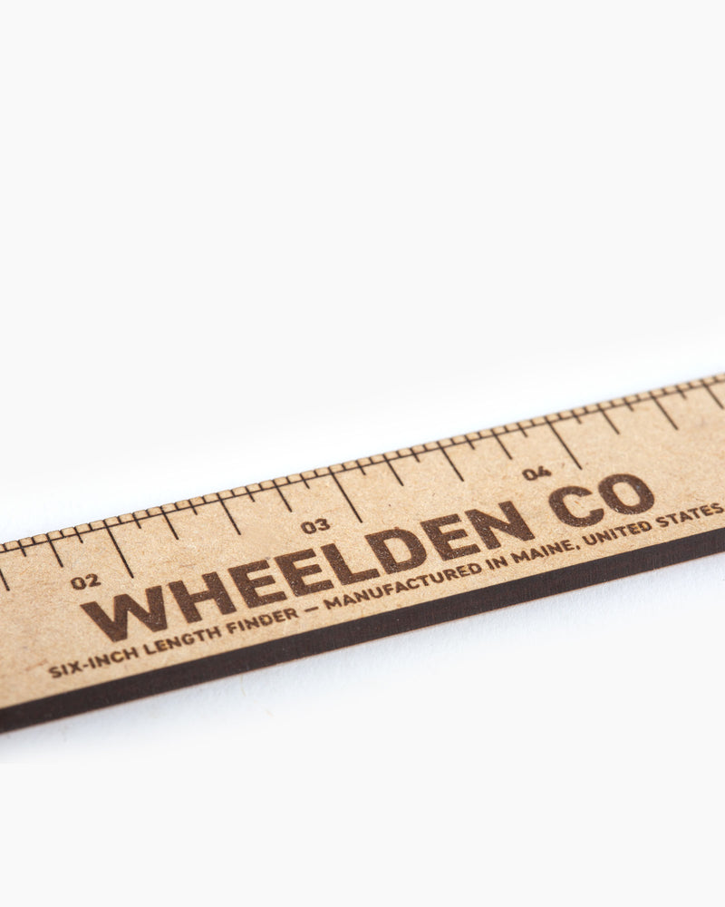 "6"" Pocket Ruler"