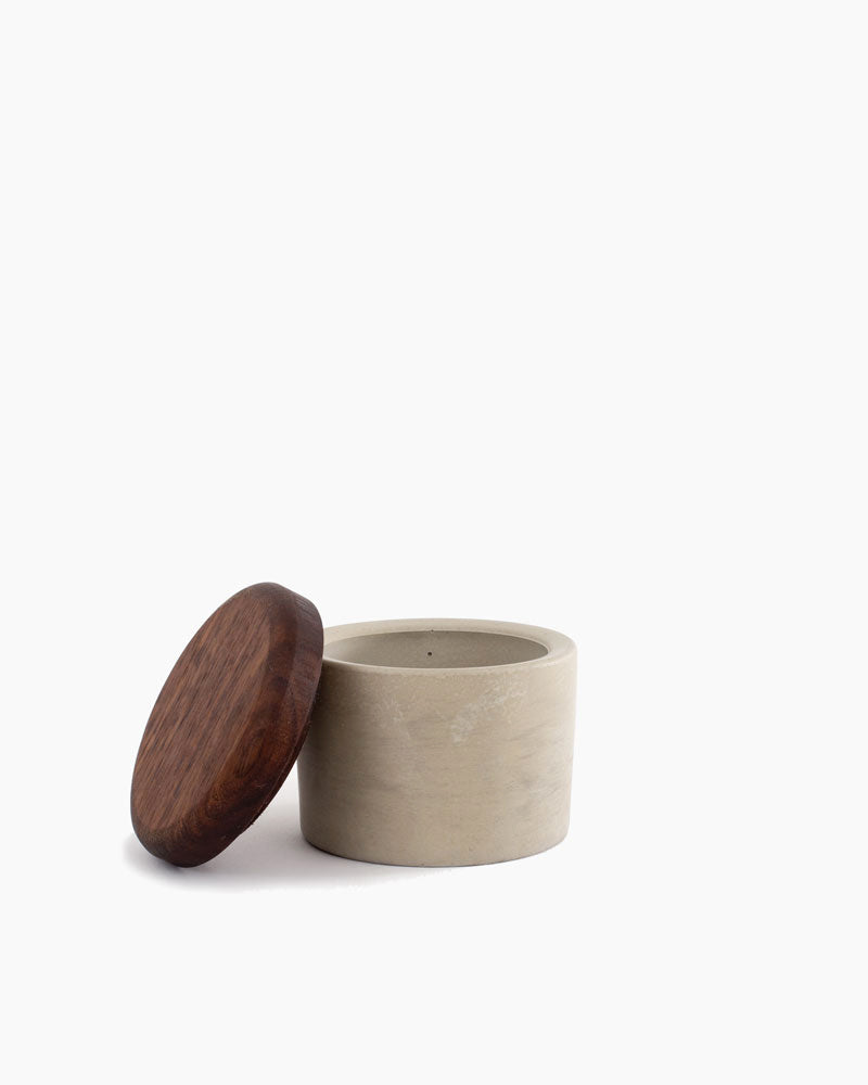 Walnut Salt Cellar