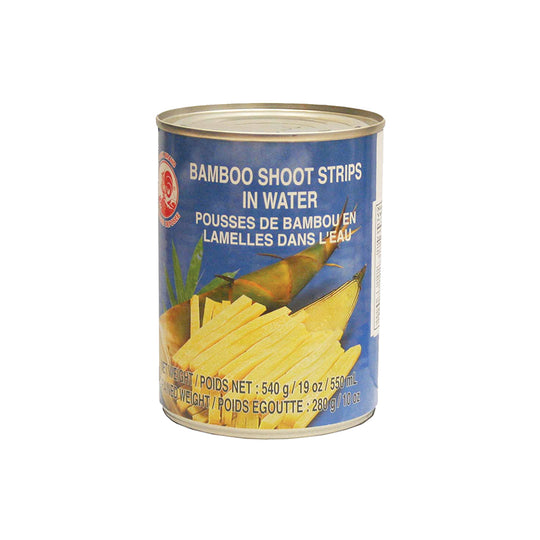 Bamboo Shoot Half In Water