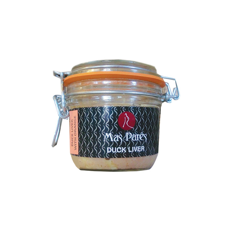 Duck Liver Whole Terrine Orange in Jar