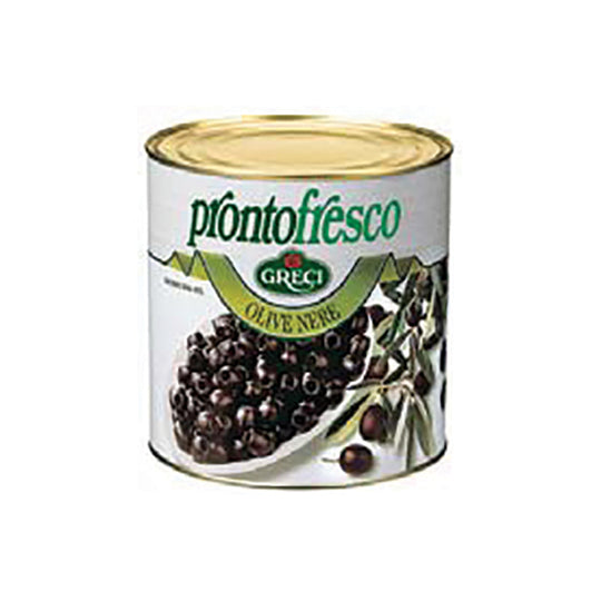 Pitted Black Olives 3/1 2.6KG