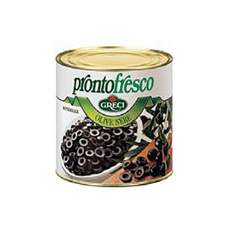Black Olives Rings 3/1 2.6KG