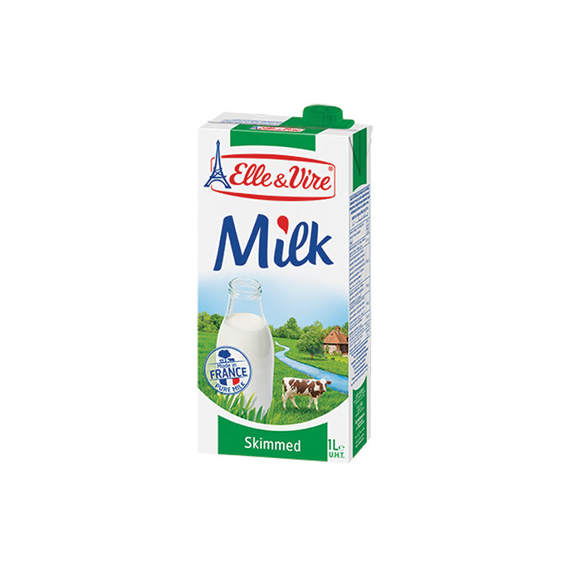 Uht Milk Skimmed Green