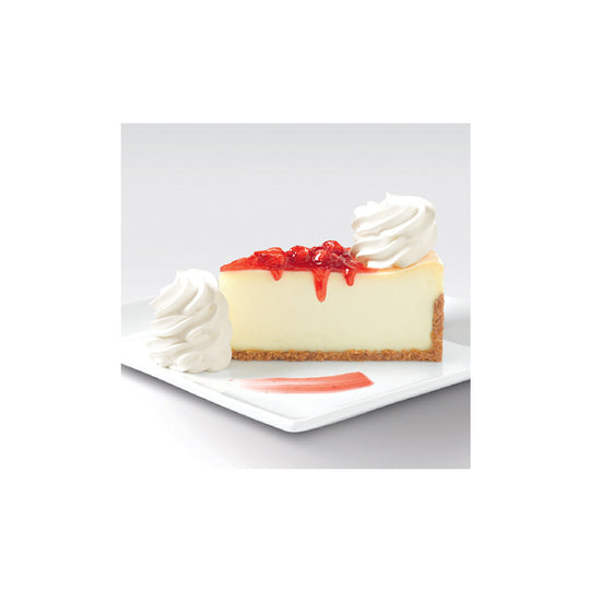 Retail Pack Strawberry Topped Cheesecake