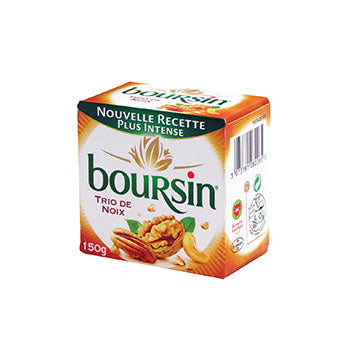 Boursin Walnut & Hazelnuts