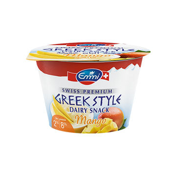 Greek Yogurt Mango 2% Fat