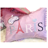 Paris Pillow Sham & Sleep Mask Set