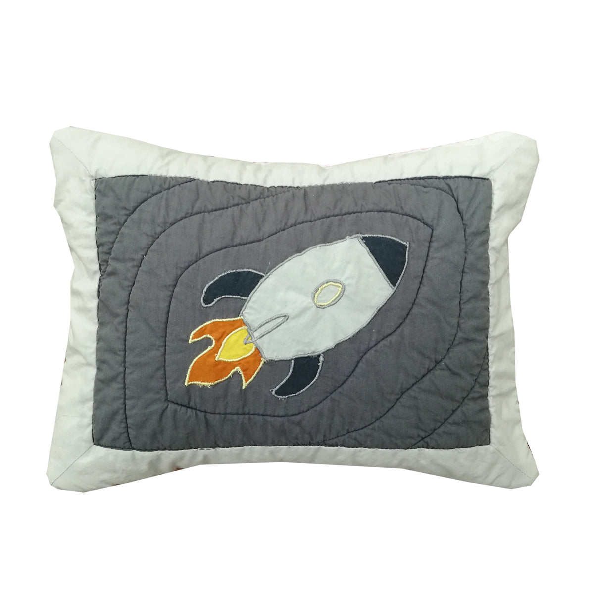 Spaceship  Pillow Cover