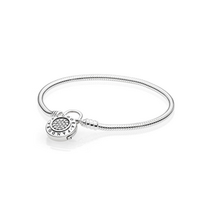 PANDORA Moments Smooth Silver Armband 597092CZ