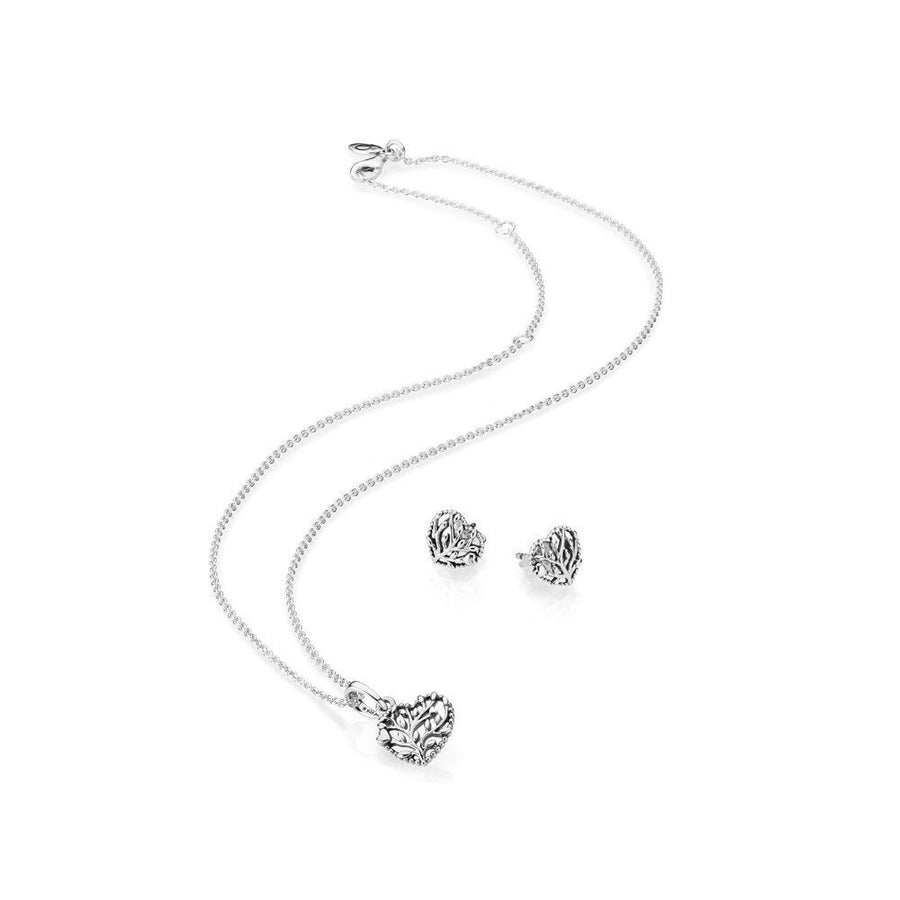 PANDORA Familiy tree Schmuck Set B800875