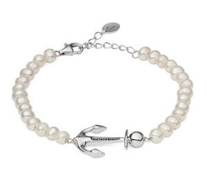 PORTINO 'PEARL ANCHOR' BRACELET