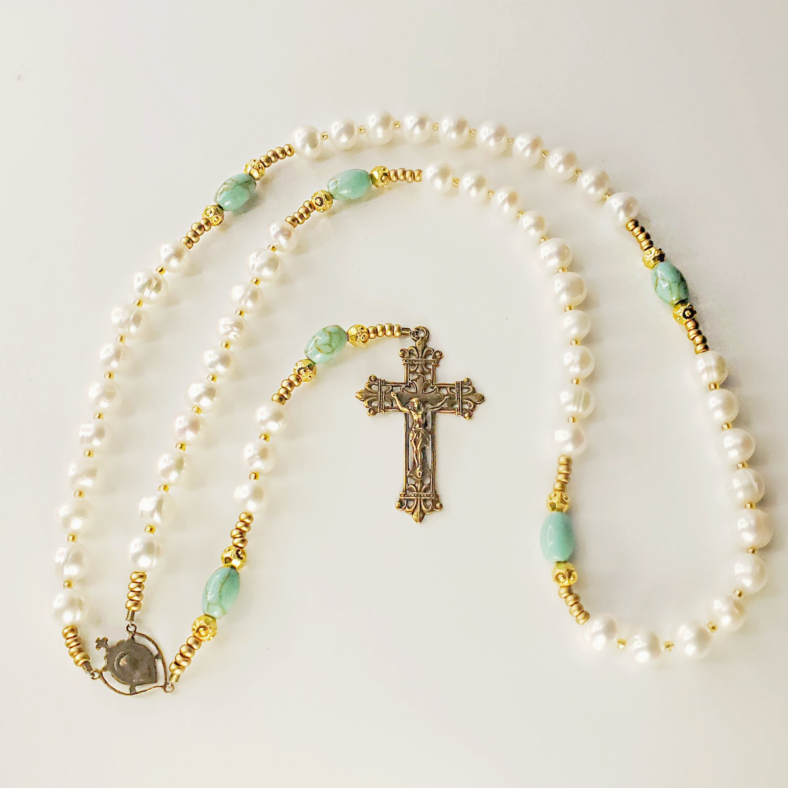 Upon His Palms Womens Rosary