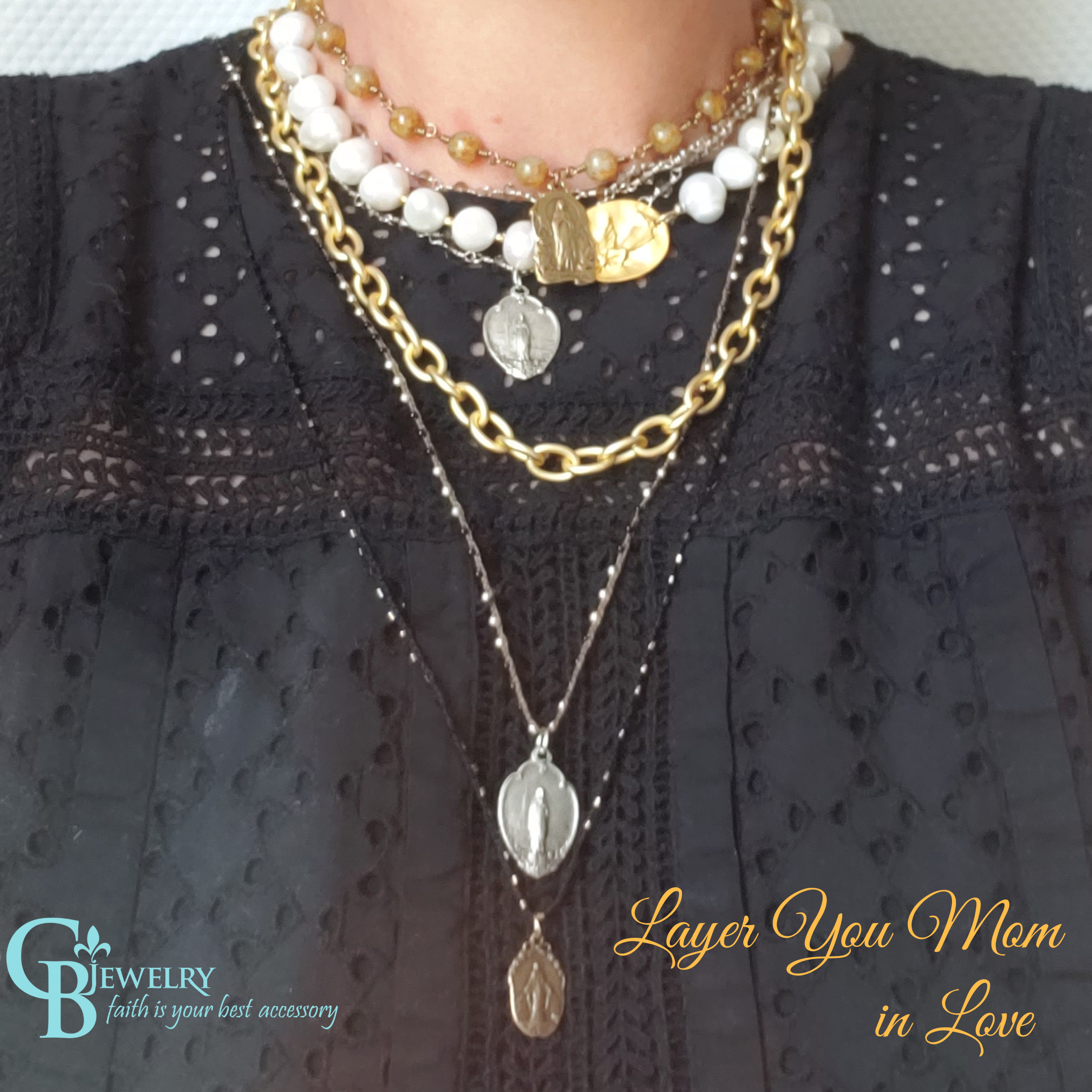 Mary's Charm necklace