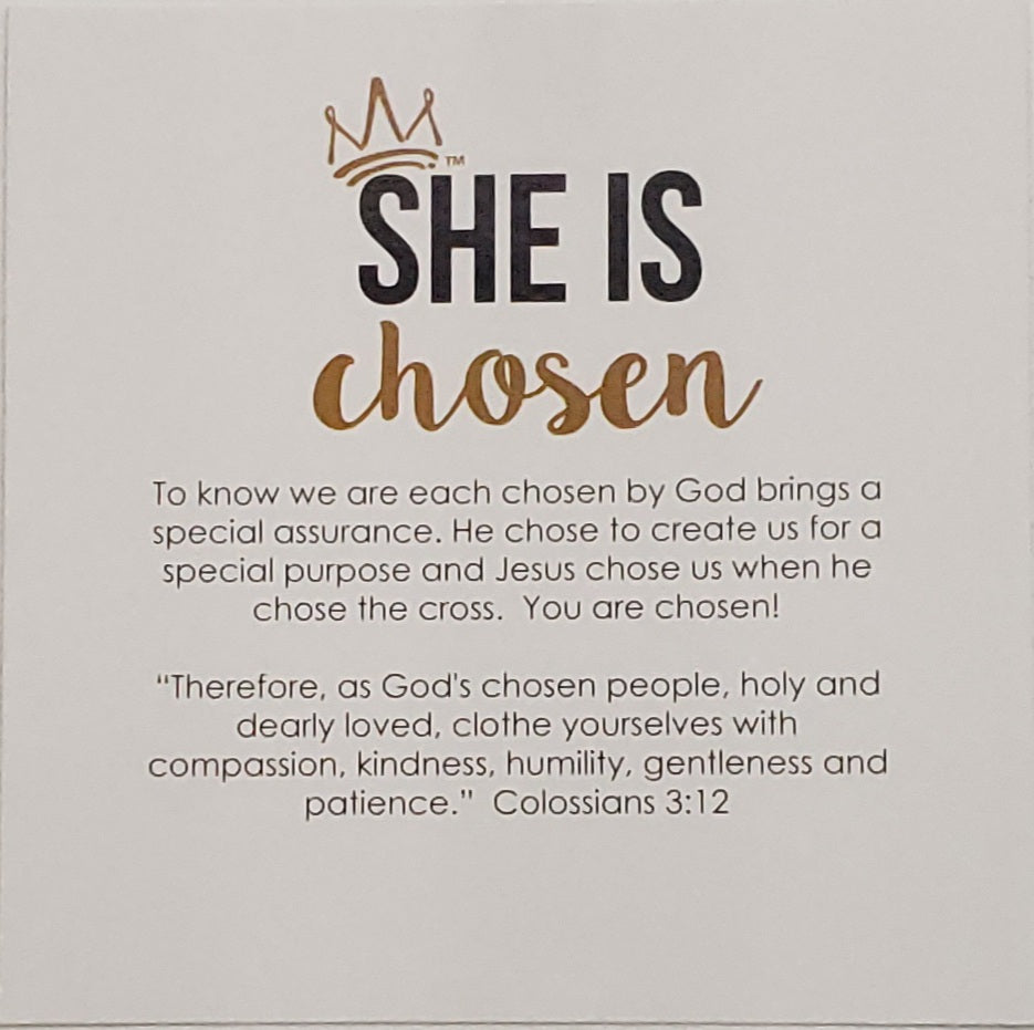 She Is Chosen Necklace