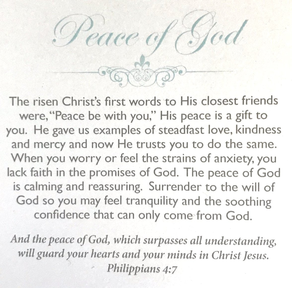 Peace of God (limited)