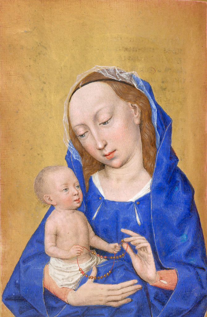Detail of The Virgin and Child by Simon Marmion