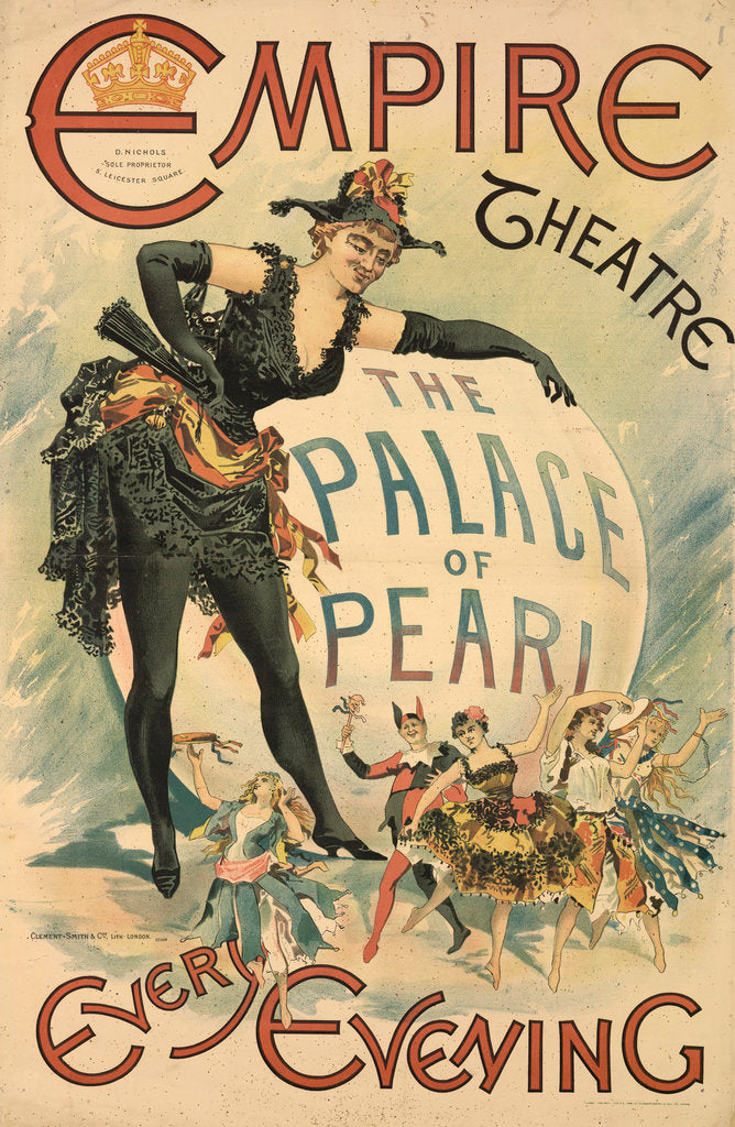 Detail of The Palace of Pearl at the Empire Theatre by Anonymous