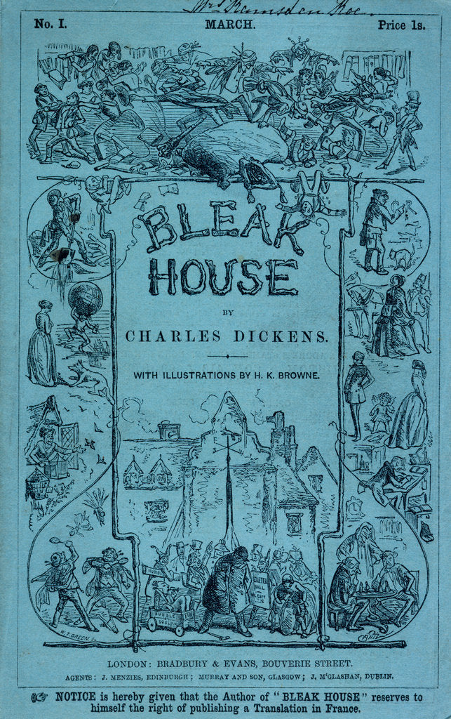 Detail of Bleak House by H K Browne