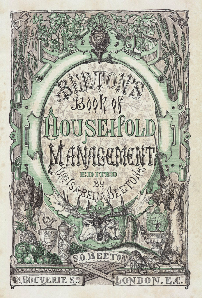 Detail of Mrs Beeton's Book of Household Management by Anonymous
