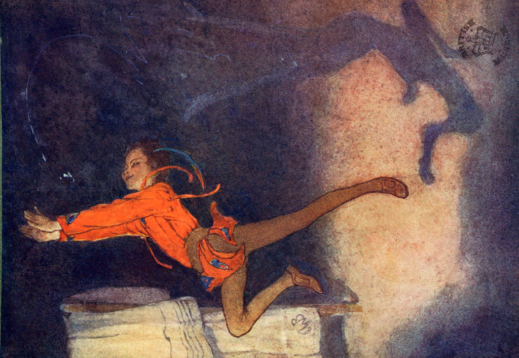Detail of Peter Pan by Alice B Woodward
