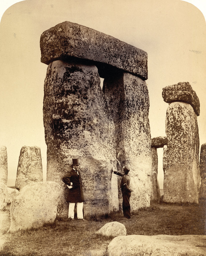 Detail of Stonehenge by Henry James