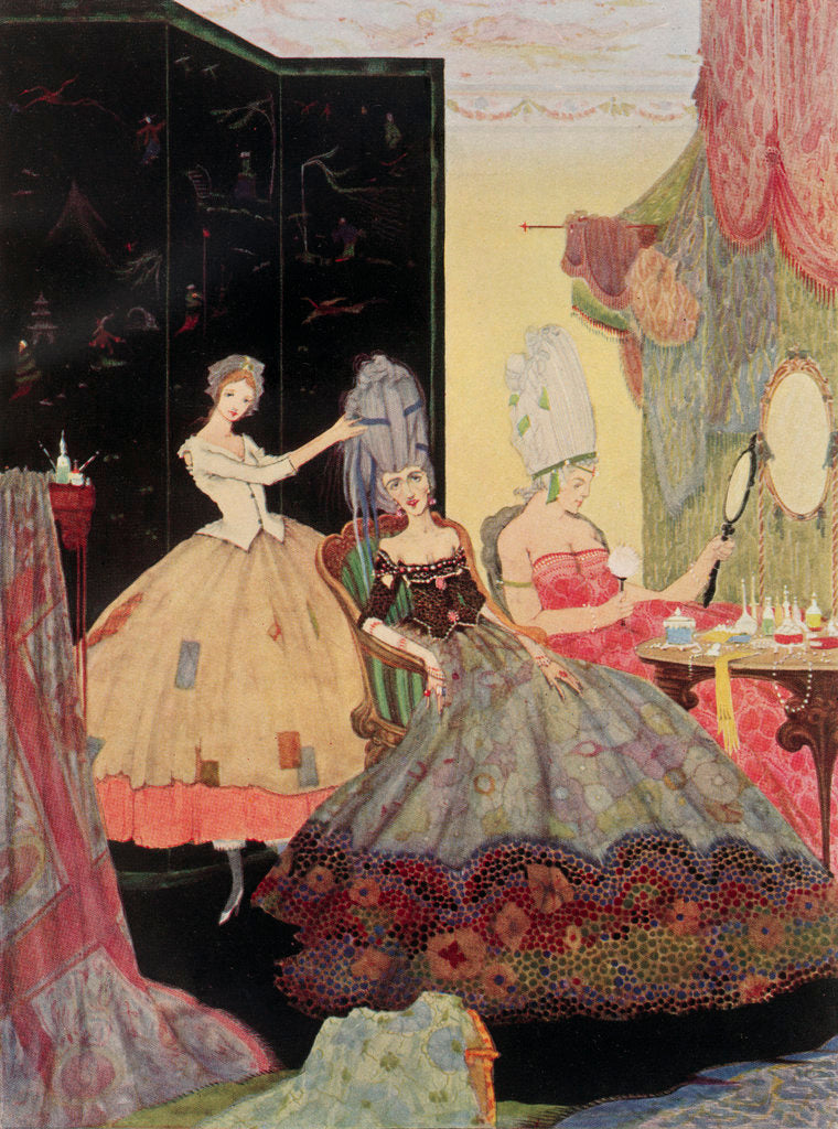 Detail of Cinderella by Harry Clarke