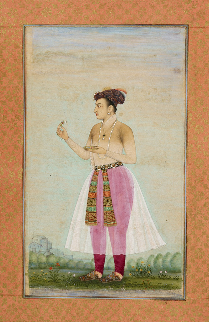 Detail of Prince Dara Shikoh by Chitarman