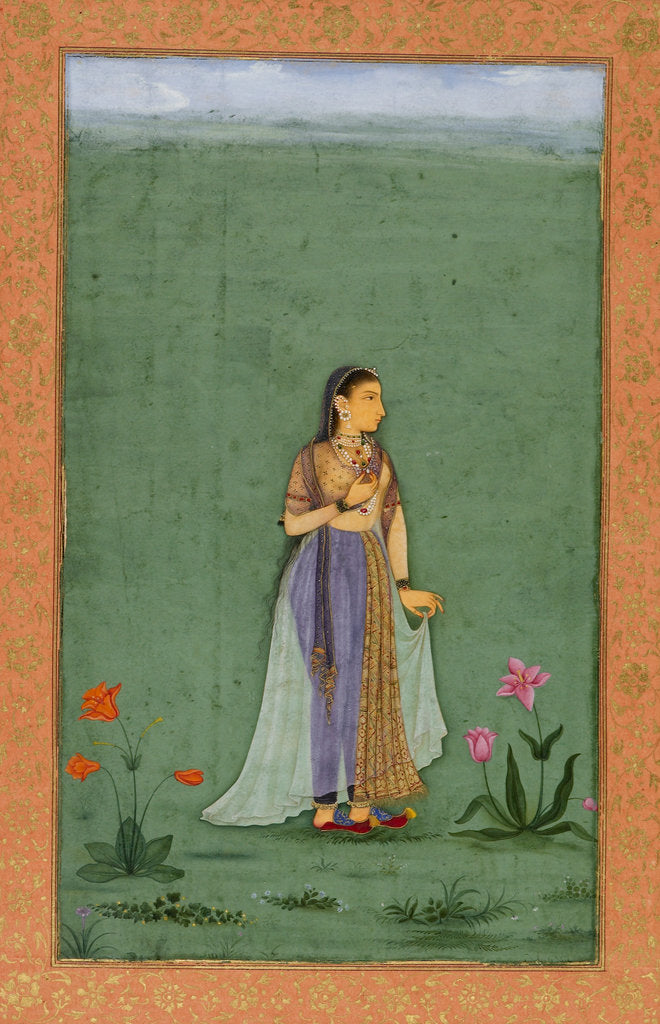Detail of Princess Nadira Banu Begum by Balchand