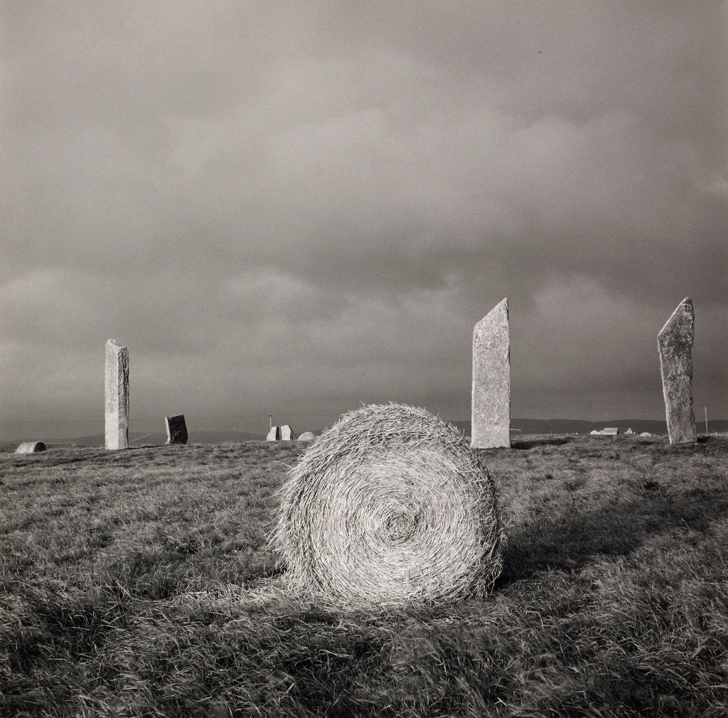 Detail of Stones of Stennes by Fay Godwin