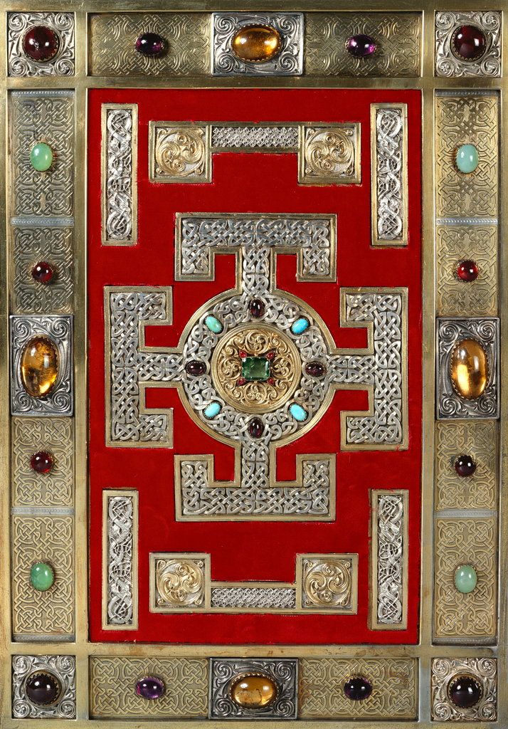 Detail of Cover of the Lindisfarne Gospels by Anonymous
