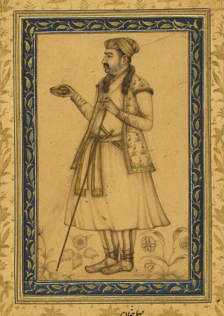 Detail of Mahabat Khan by Anonymous
