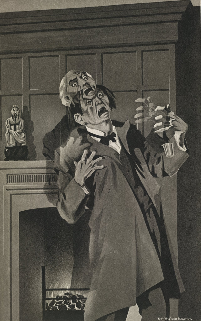 Detail of The Strange Case of Dr. Jekyll and Mr. Hyde by S G. Hulme Beaman