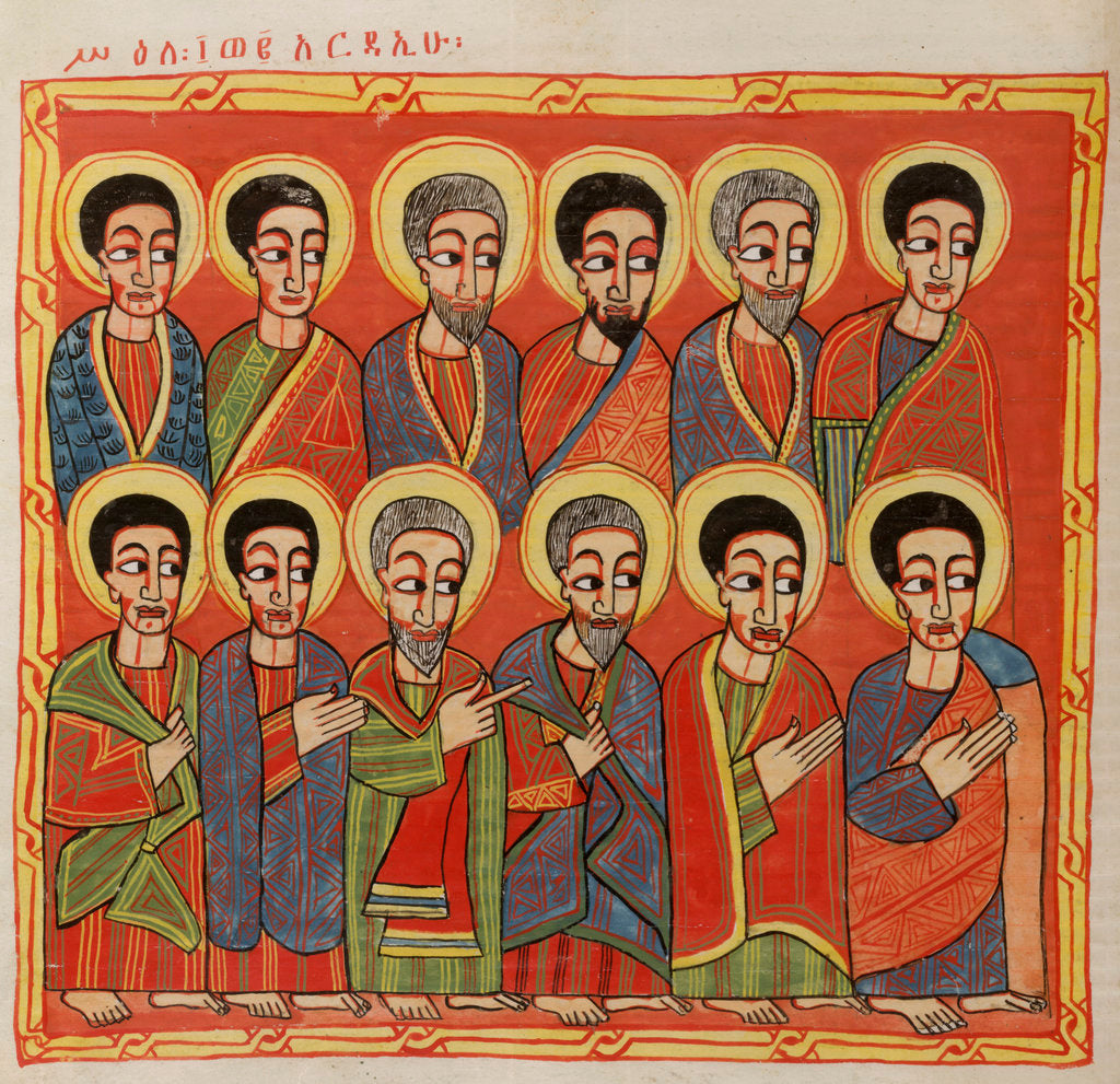 Detail of The twelve apostles by Anonymous