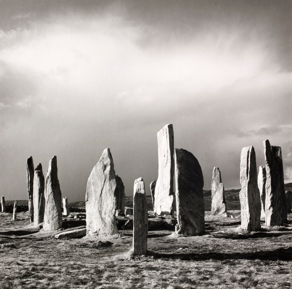 Detail of Callanish after hailstorm by Fay Godwin