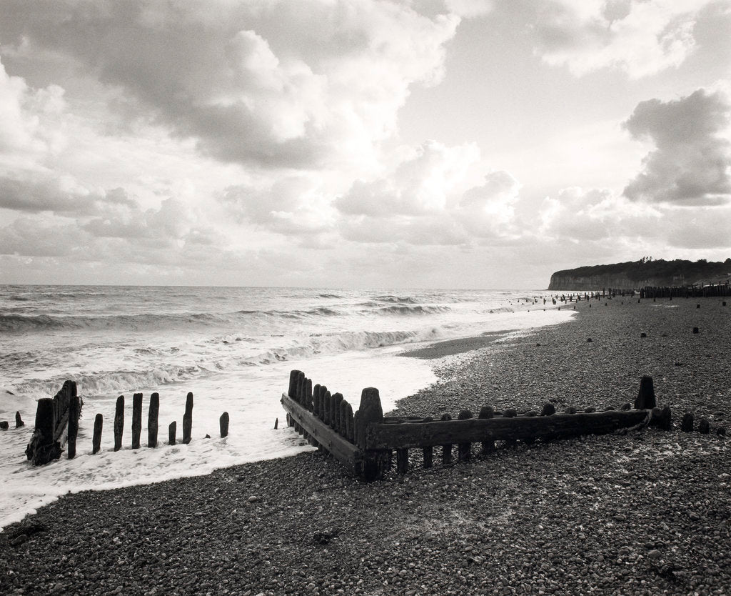 Detail of Zig-Zag groynes by Fay Godwin