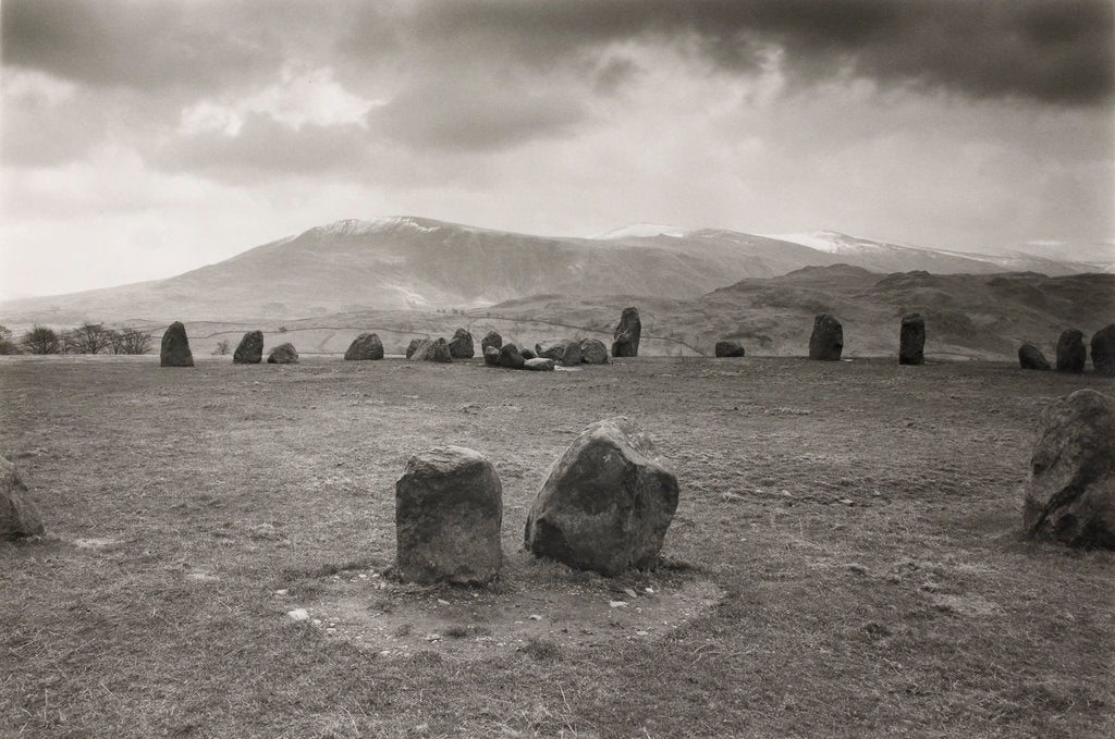 Detail of Castlerigg by Fay Godwin