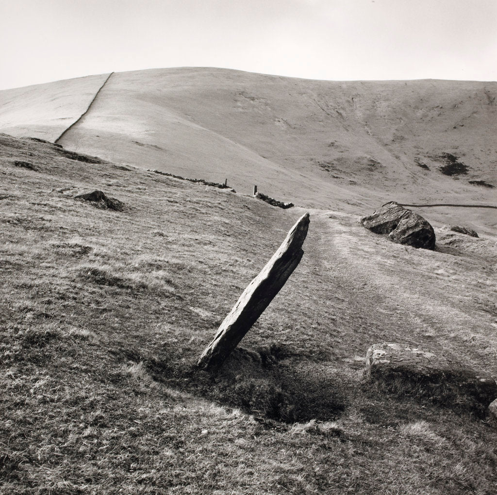 Detail of Markerstone by Fay Godwin