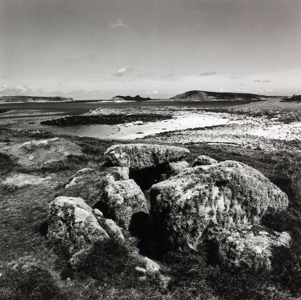 Detail of Burial Chamber by Fay Godwin