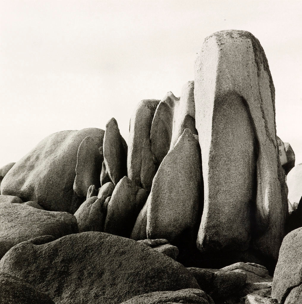 Detail of White Rocks by Fay Godwin