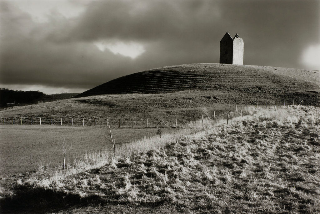 Detail of Stone tower by Fay Godwin