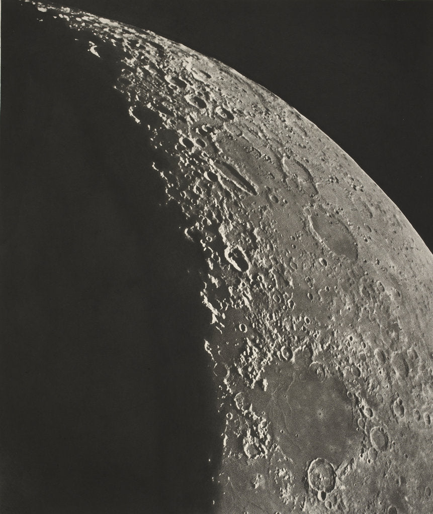 Detail of The moon by Charles le Morvan