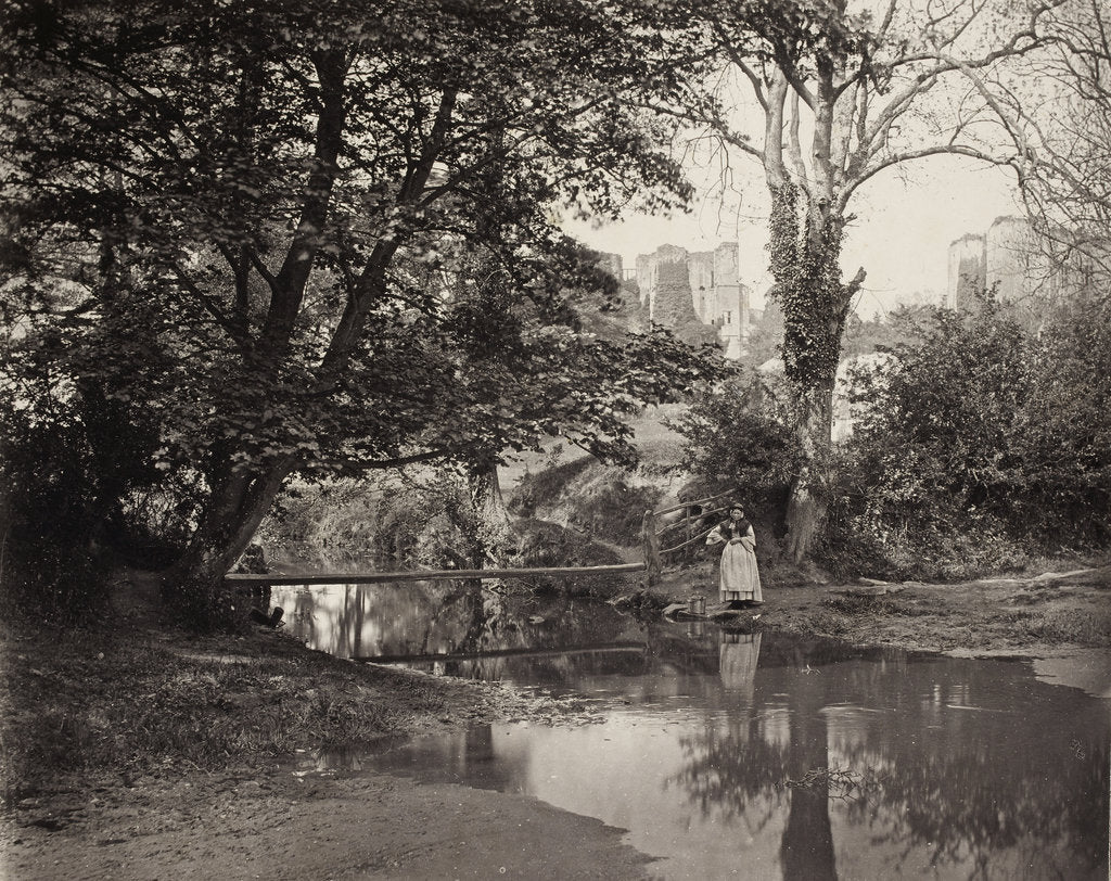Detail of Kenilworth Castle, c. 1863 by Francis Bedford